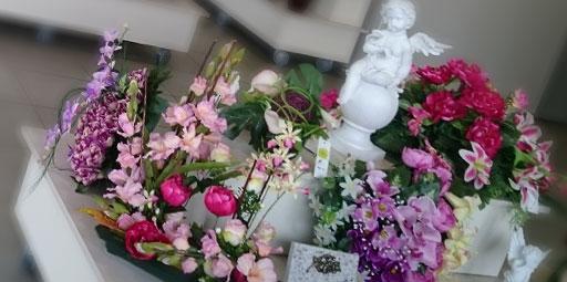 articles funeraires : compositions florales