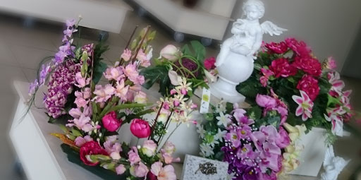 articles funeraires : compositions florales